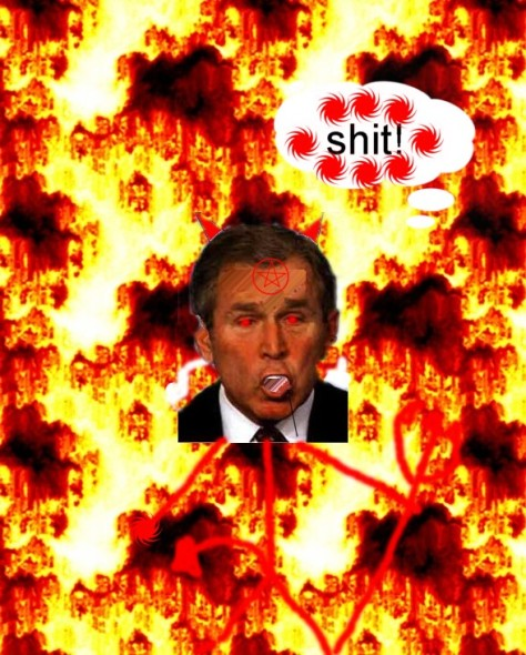 Bush in Hell