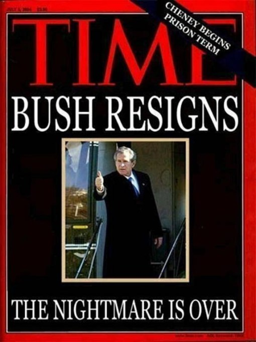 Bush resigns